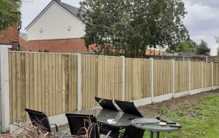 Feather Edge Fence - Fencing Supplies In Shrewsbury, Shropshire Supplied and Fitted