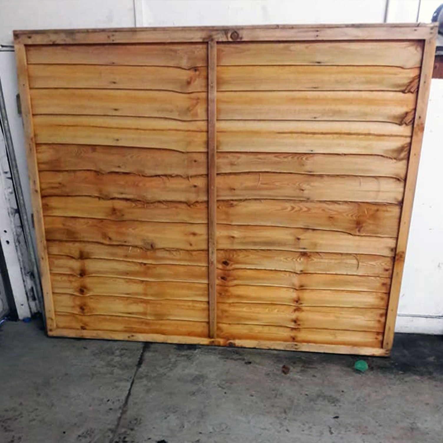 Lap Fence In Shrewsbury Shropshire