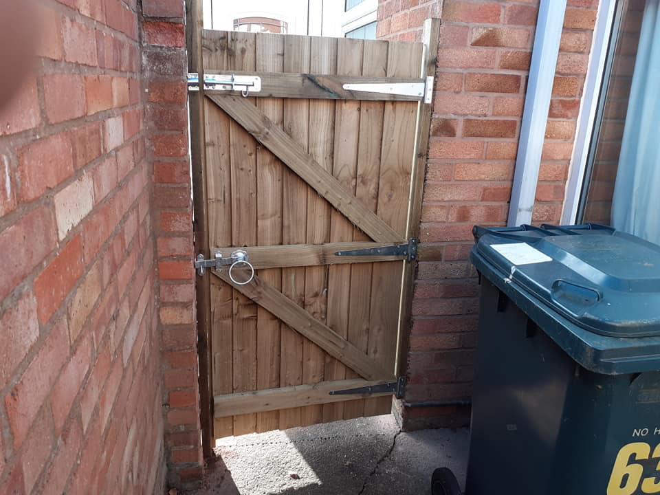 Gate - Fencing Supplies In Shrewsbury, Shropshire Supplied and Fitted