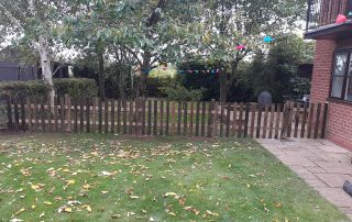 Picket Fence- Fencing Supplies In Shrewsbury, Shropshire Supplied and Fitted