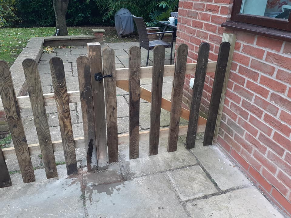 Picket Gate - Fencing Supplies In Shrewsbury, Shropshire Supplied and Fitted