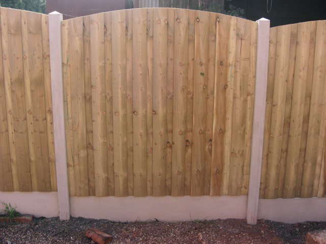 Domed Feather edge fence panel - Fencing Supplies In Shrewsbury, Shropshire Supplied and Fitted
